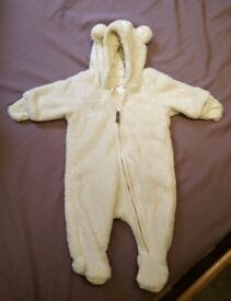 H&M baby snowsuit