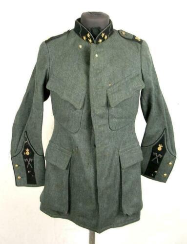 Vintage WWI Swiss Army Tunic Jacket Coat Switzerland Uniform
