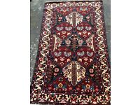 Persian Rug recently washed, hand knotted in excellent condition. REDUCED PRICE