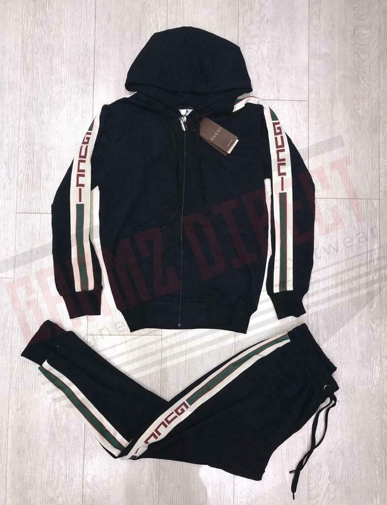 7fe42ae2a39bd4 Gucci Tracksuit Full Set GG Hoodie *All Sizes Available* | in Wembley ...