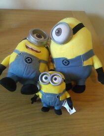 Minion soft toys