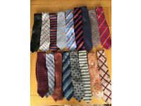 Selection of men's Ties