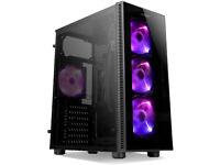 BNiB 6-Core i5-9400 (VR,4K) Gaming PC - GTX 1660 6GB (RTX opt), 250GB M.2 SSD, 16GB DDR4, 1TB HDD