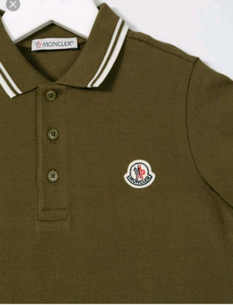 boys moncler polo top