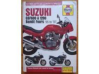 Haynes Suzuki Bandit Service & Repair Manual