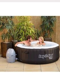 Lazy spa plus cleaning kit, cover from B an Q