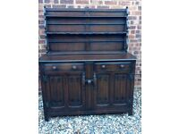 Ercol Dark Oak Dresser .... £85 ... Possible Delivery