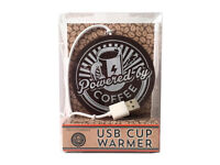 Powered By Coffee USB Cup Warmer-from a smoke&pet free house