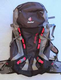 Deuter hiking backpack – Men's/Unisex Guide 35+
