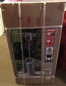 Brand new patio gas heater