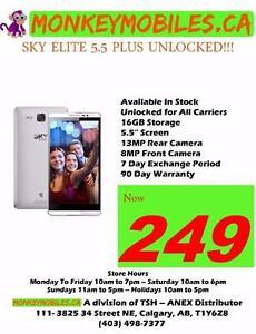 BRAND NEW SKY ELITE UNLOCKED SMART PHONE!!! Samsung s5,s7 CLEARANCE SALE