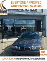 2001 BMW 330I Convertible/Heated seats/LOW KM