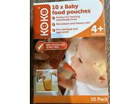 Reusable Baby Food Pouches 4+ Months