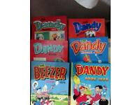 Dandy comic annuals.