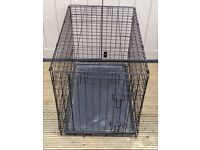 FOLDING DOG / PET CAGE – L. 30 inch, W. 19 inches, H. 21 inches