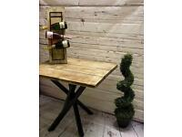 Handcrafted Square Table