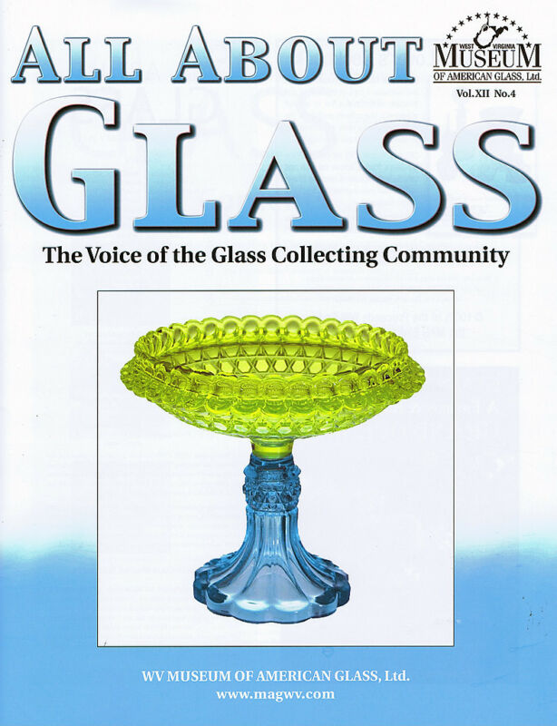 All About Glass 12-4: US Glass, Carnival, Jefferson, Corning Ware, Houze