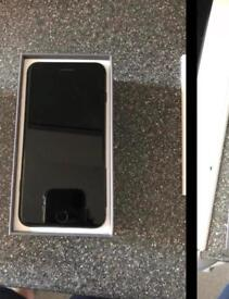 iPhone 8 Plus Black O2 Tesco Giffgaff With Box & Accessories. Can Deliver.