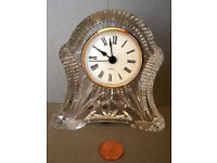 bohemia crystal clock