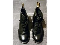 MAKE AN OFFER | As New | Used 101 Smooth Dr. Martens Black Boots | RRP £125 | Size 6 | AirWair
