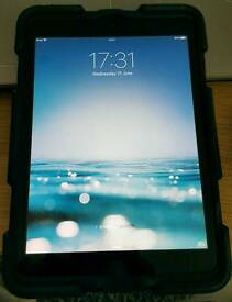 Apple iPad Mini 2 - 16GB, Wi-Fi 7.9inches - Space Grey, No Box, W/Case
