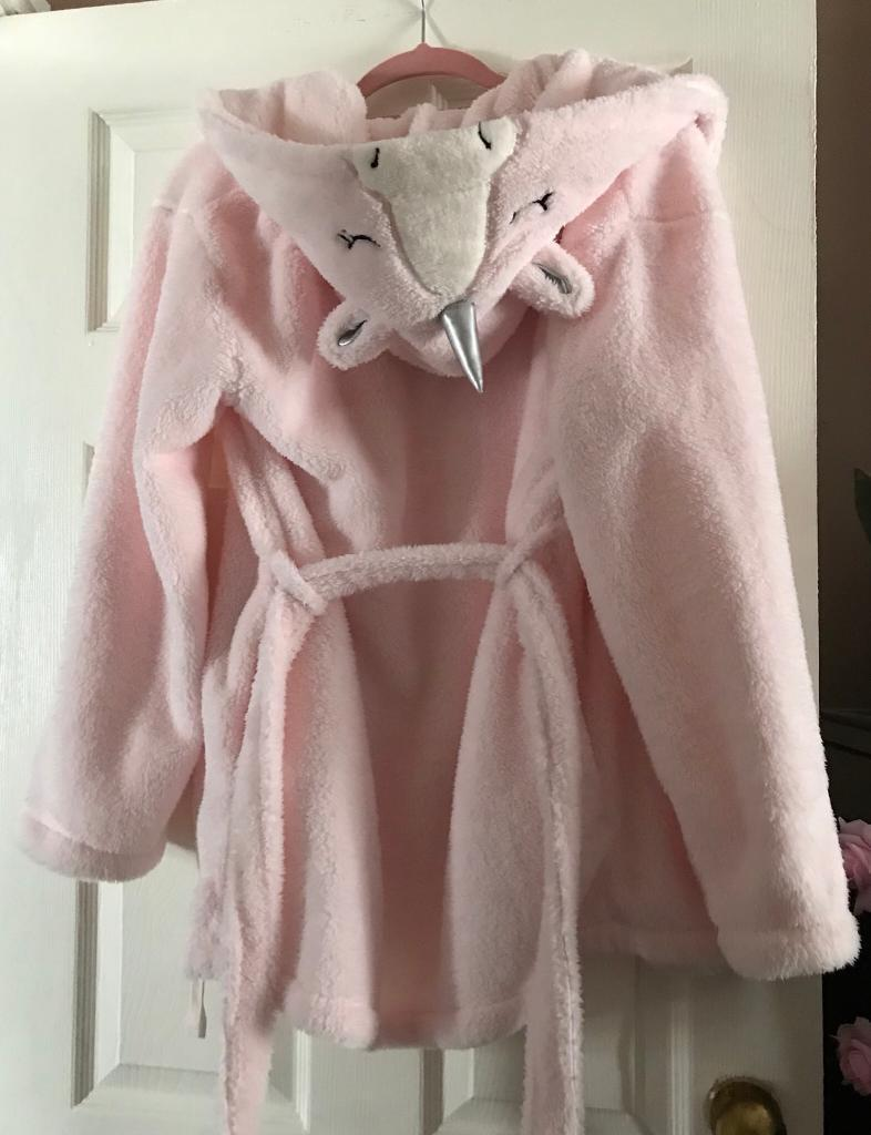 Boux Avenue Unicorn Robe Dressing Gown Nightwear In East Boldon