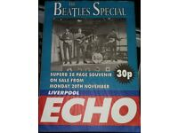 BEATLES LIVERPOOL ECHO SPECIAL POSTER