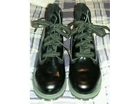 Black Patent Timberland Boots