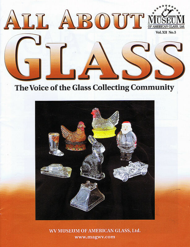 All About Glass 12-3: Millstein candy containers, Blendo, Northwood Cactus