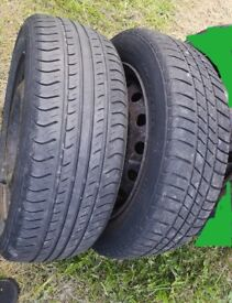 Peugeot 206 Wheels with Good Tyres