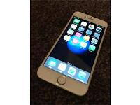 APPLE IPHONE 6 GOLD 16GB FULLY WORKING