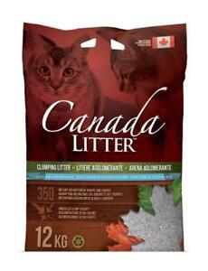 Canada Litter Clumping Cat Litter Baby Powder Scent 12 KG (26-Pounds)