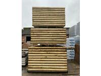 Timber Fence Panels ~ Tanalised