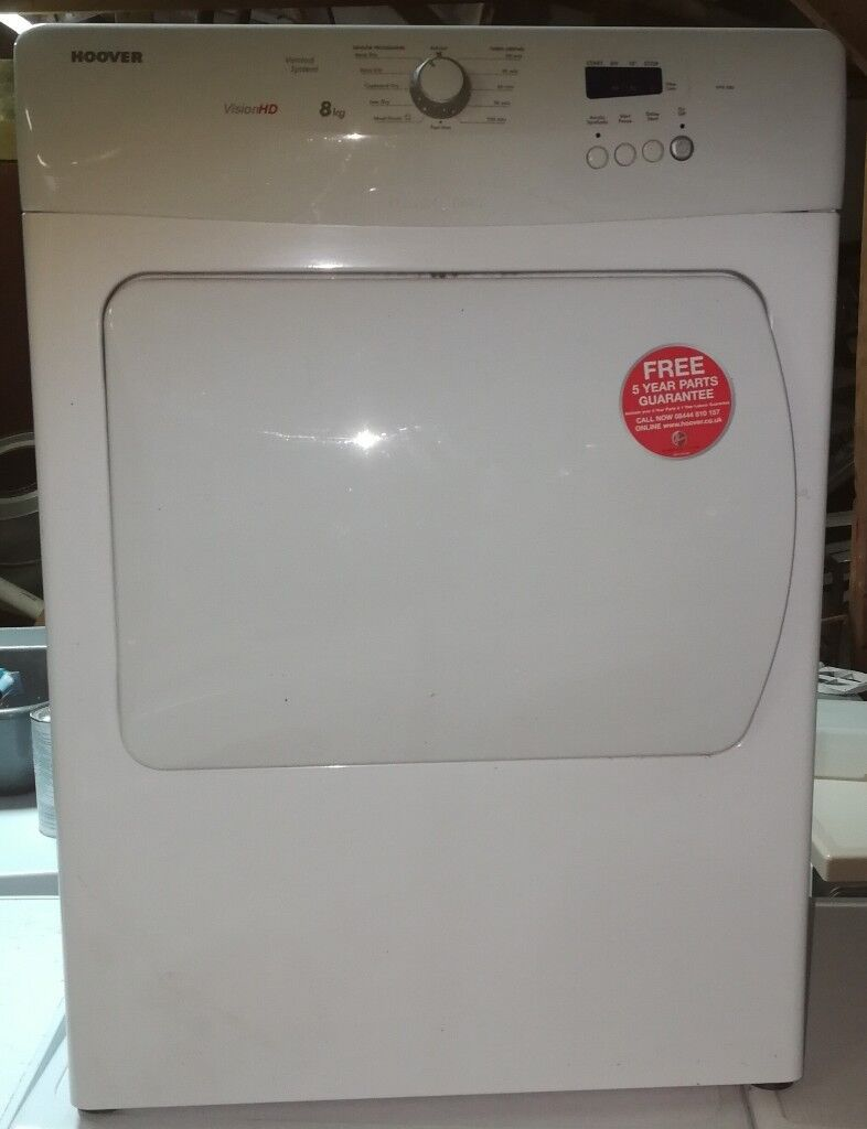 HOOOVER 8KG VENTED TUMBLE DRYER IN GOOD WORKING ORDER