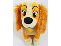 """10"""" Lady And The Tramp Soft Toy By Disney"""