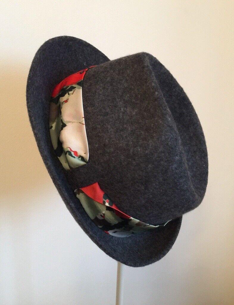Paul Smith Women s Wool Trilby Hat  82e24d19e6bf