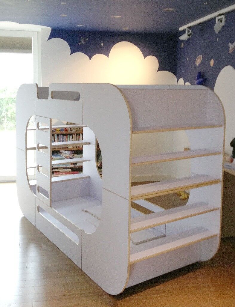 Luxury Designer Children S Bunk Bed Io Bunk Pod From Io Kids Design