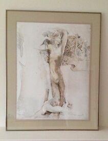 Jurgen Gorg fine art framed print 'Inspiration'