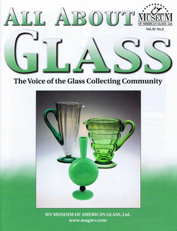 All About Glass 11-2: Morgantown Seneca King's Crown Eyewash Cups Mustard Jars