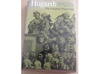 Hardback Art Book with cover - Hogarth The Complete Engravings. Edited by Anna Livet. Hardback.