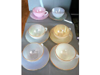 Arcopal Opalescent Tea Set