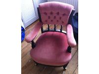 sofa armchair vintage