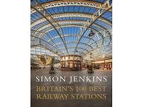 Simon Jenkins - Britain's 100 Best Railway Stations (Hardcover)