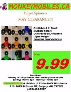 MAY CLEARANCE SALE!!! FIDGET SPINNERS $9.99