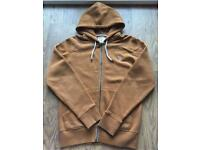 Bundle of four men's small hoodies by Nanny State & American Apparel