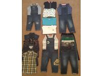 Baby Boy Clothes 12 - 18 Months - Bargain £25