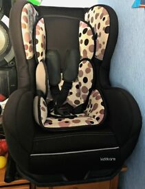 Kiddicare Car Seat in Great Used condition