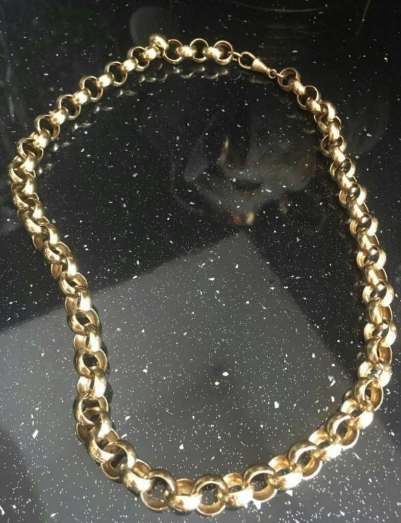 9ct gold belcher chain Wanted