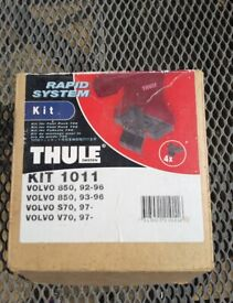 Thule roof bar fittings for Volvo
