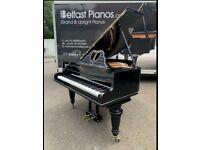 John Broadwood Black Baby Grand Piano| Belfast Pianos ||| Free delivery